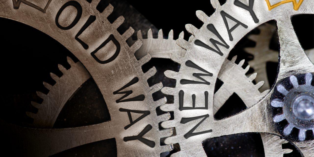 Develop skills for change management